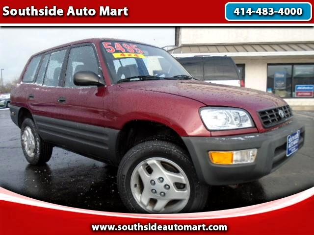 used 1999 toyota rav4 4 door 4wd for sale in cudahy wi 53110 southside auto mart. Black Bedroom Furniture Sets. Home Design Ideas