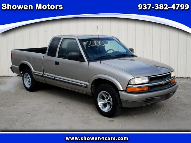 2001 Chevrolet S10 Pickup Ext. Cab 2WD