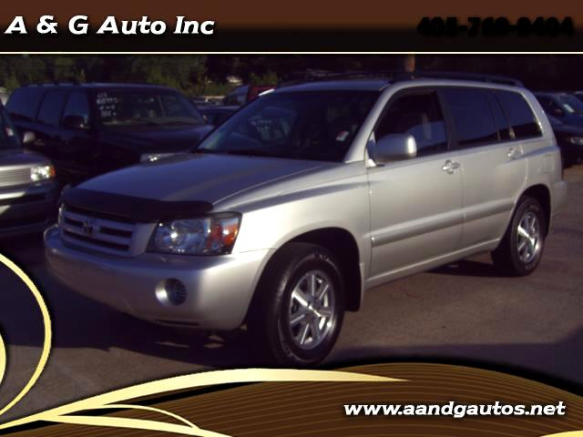 2004 Toyota Highlander Limited V6 2WD