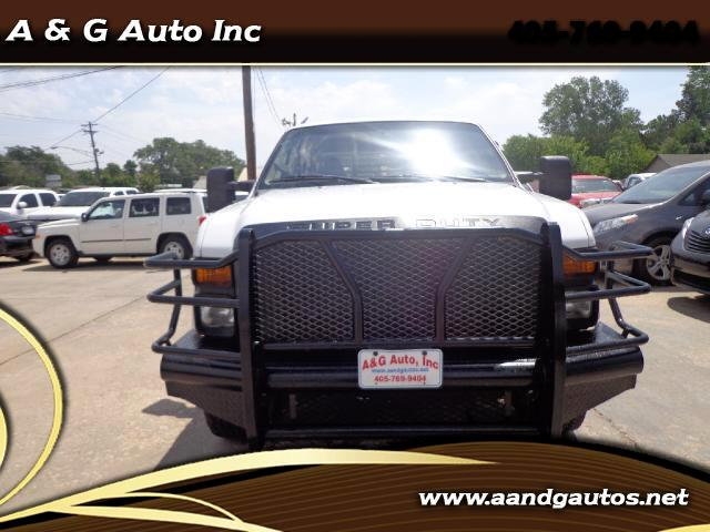 2008 Ford F-350 SD XLT Crew Cab Long Bed 4WD diesel