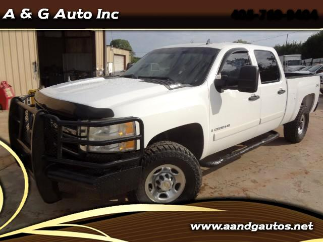 2008 Chevrolet Silverado 2500HD Work Truck Crew Cab Std. Box 4WD TURBO DIESEL
