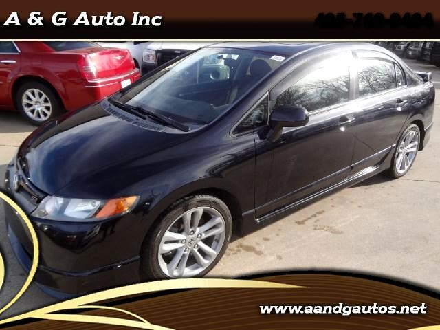 2008 Honda Civic Si Sedan with Navigation