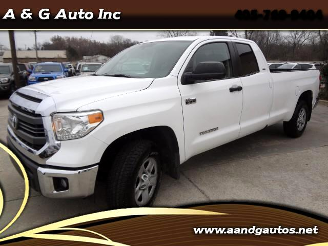 2014 Toyota Tundra SR5 5.7L V8 FFV Double Cab 4WD Long Bed