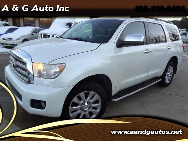 2010 Toyota Sequoia Plantium 4WD FFV