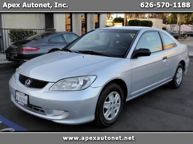 2005 Honda Civic VP coupe AT