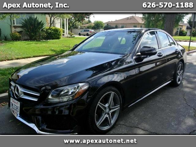 2016 Mercedes-Benz C-Class C300 AMG Sedan