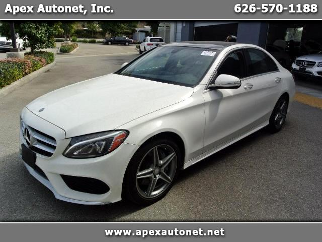 2015 Mercedes-Benz C-Class C300 AMG Sport Sedan