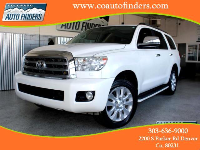 2011 Toyota Sequoia Plantium 4WD FFV
