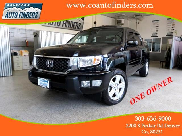 2012 Honda Ridgeline RTL w/ Leather and Navigation