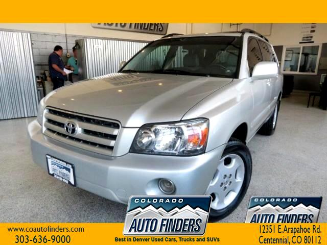 2006 Toyota Highlander Limited V6 4WD