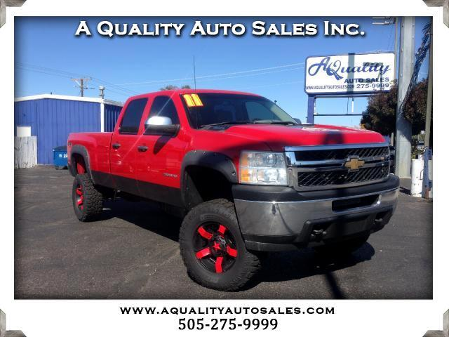 2011 Chevrolet Silverado 2500HD Crew Cab Long Bed 4WD