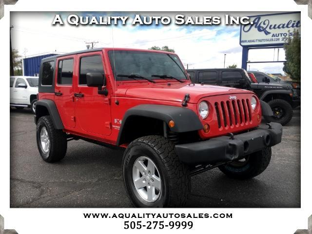 2008 Jeep Wrangler Unlimited X 4WD