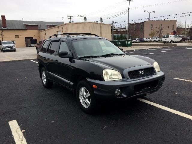 2002 Hyundai Santa Fe GLS 4WD