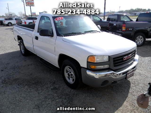 2003 GMC Sierra 1500 Work Truck Long Bed 2WD