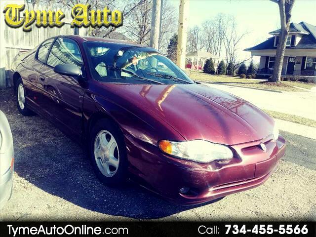 2002 Chevrolet Monte Carlo car for sale in Detroit