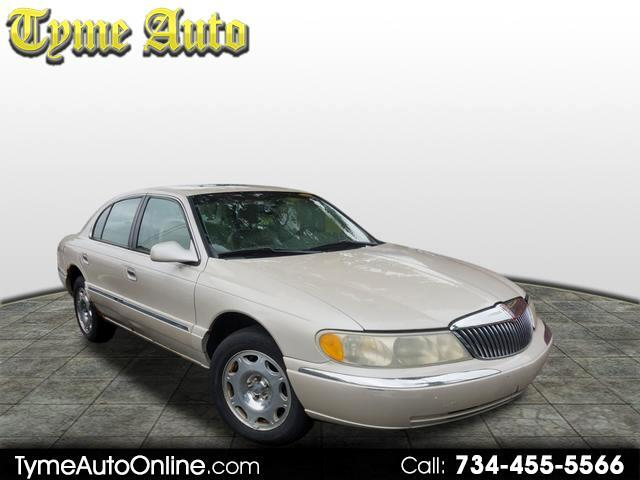 2001 Lincoln Continental car for sale in Detroit