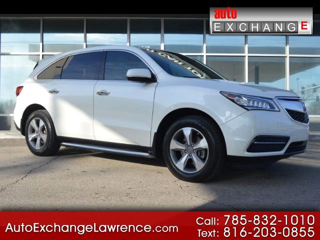 2015 Acura MDX SH-AWD 6-Spd AT