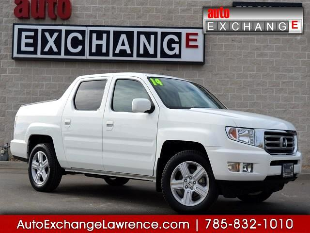 2014 Honda Ridgeline RTL w/ Leather