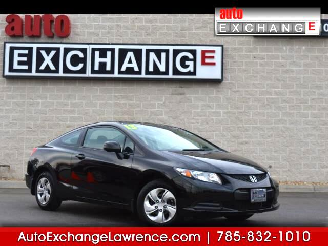 2013 Honda Civic LX Coupe 5-Speed AT