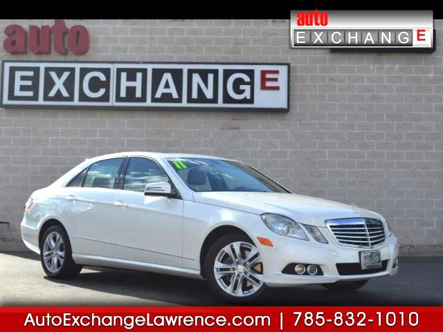 2011 Mercedes-Benz E-Class E350 Sport 4MATIC Sedan