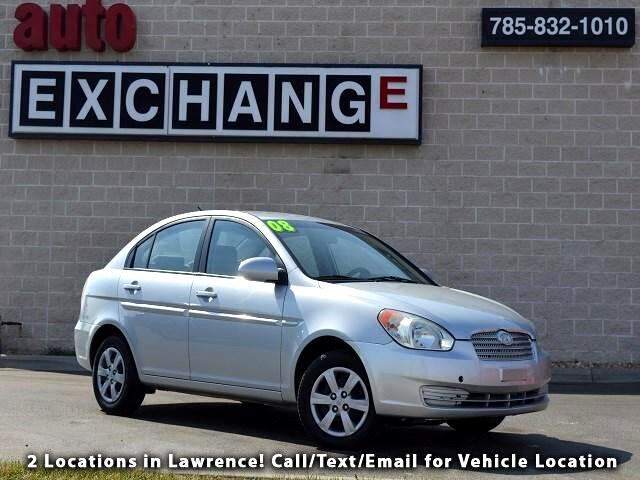 2008 Hyundai Accent GLS 4-Door