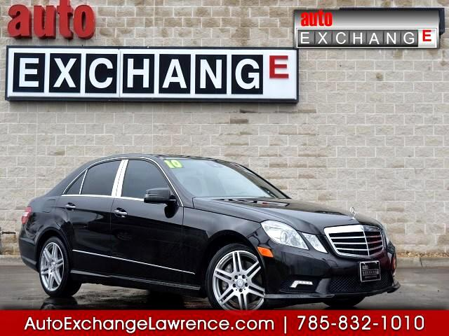 2010 Mercedes-Benz E-Class 4dr Sdn E 550 Luxury RWD