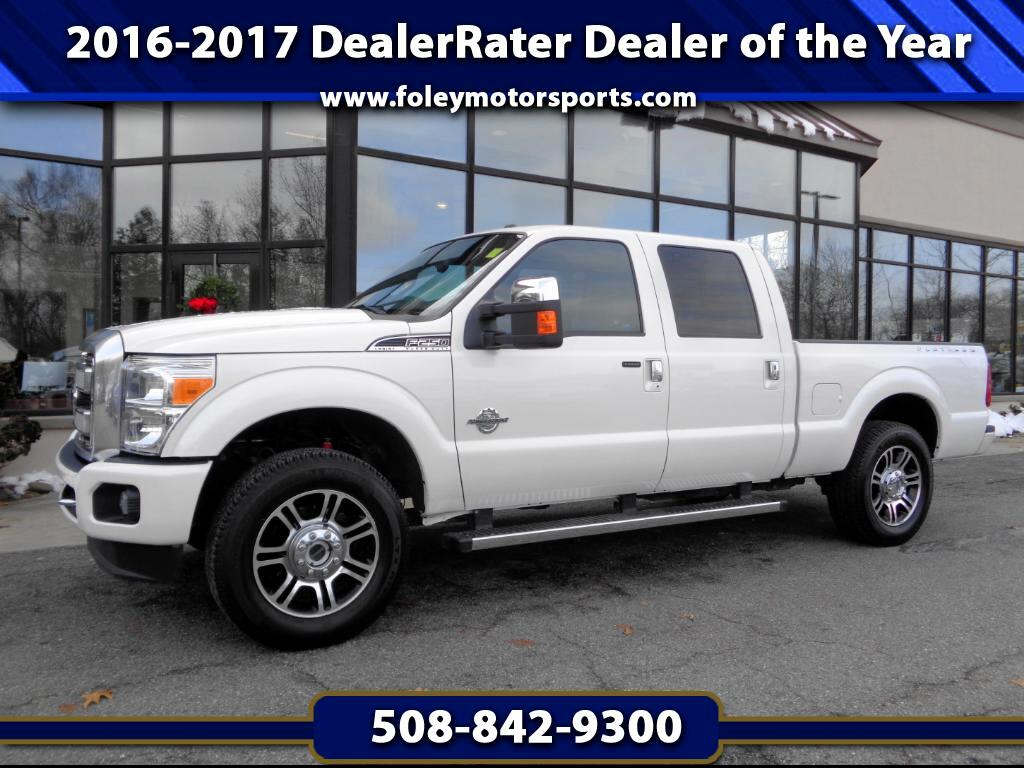 2016 Ford F-250 SD Platinum 4WD