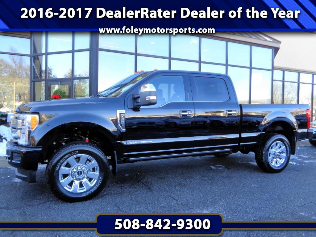 2017 Ford F-350 SD Platinum Crew Cab 4WD FX4 w Ultimate Package