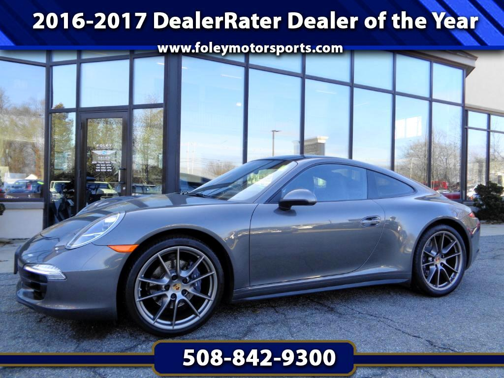 2015 Porsche 911 Carrera 4 Coupe