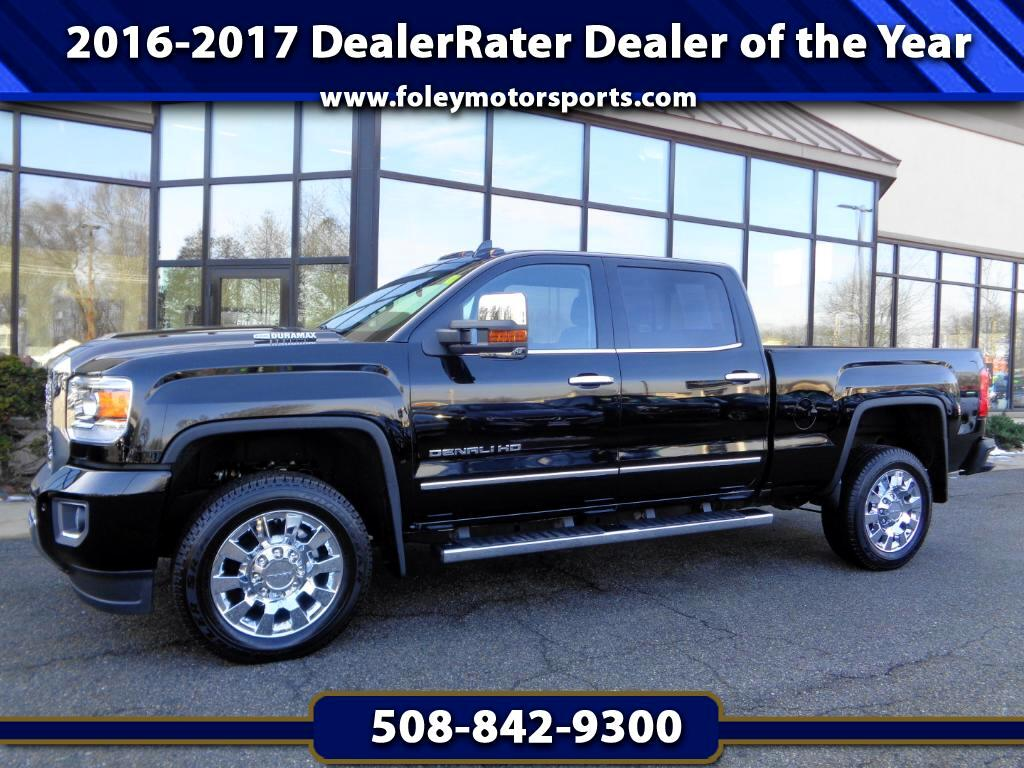 2018 GMC Sierra 2500HD Denali Crew Cab 4WD w DuraMax Plus Package