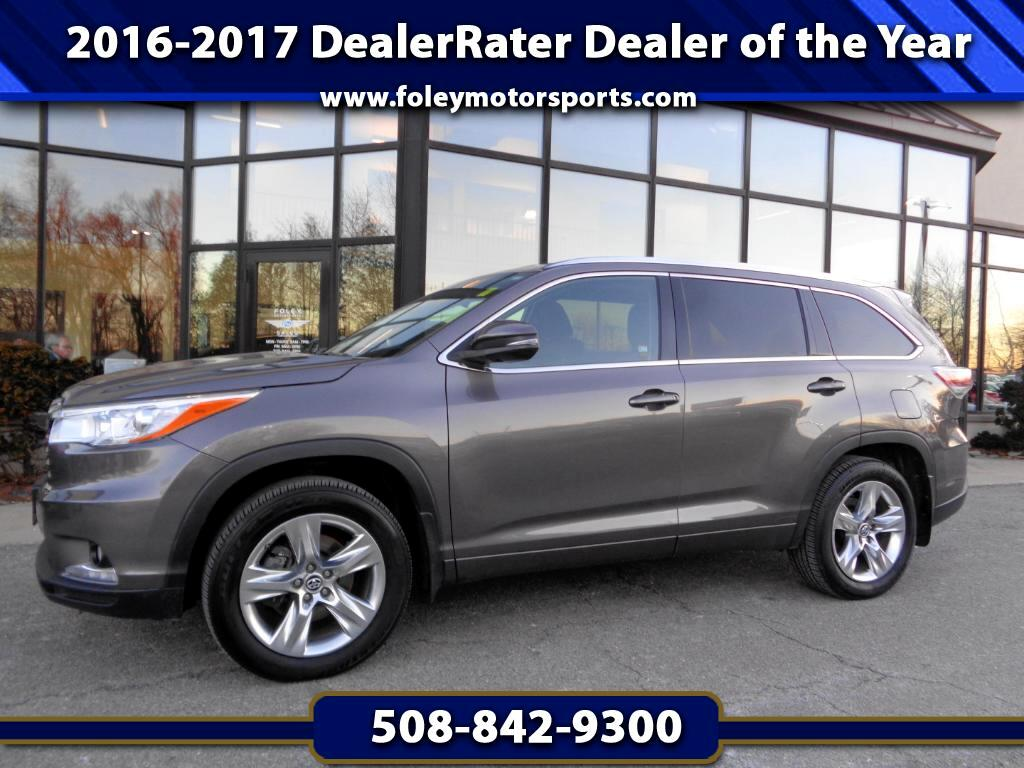 2016 Toyota Highlander Limited Platinum AWD V6