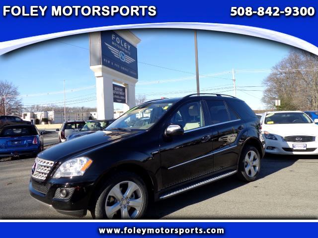 2010 Mercedes M-Class AWD ML350 BlueTEC 4MATIC 4dr SUV 4x4 Air Conditioning Alarm System Alloy W