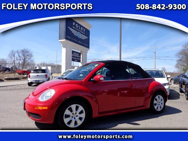2008 Volkswagen New Beetle S Convertible at Foley Motorsports