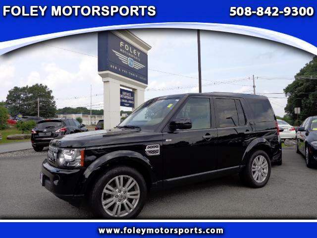 2012 LAND ROVER LR4 4x4 HSE 4dr SUV 4x4 Air Conditioning Alarm System Alloy Wheels AMFM Anti-