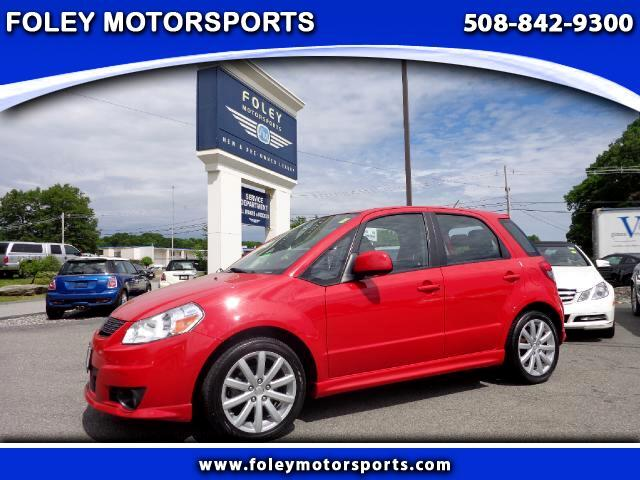 2011 SUZUKI SX4 Crossover Base 4dr Hatchback with Technology Package CVT Air Conditioning Alloy Wh