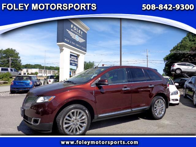 2012 LINCOLN MKX AWD 4dr SUV 4x4 Air Conditioned Seats Air Conditioning Alarm System Alloy Whee