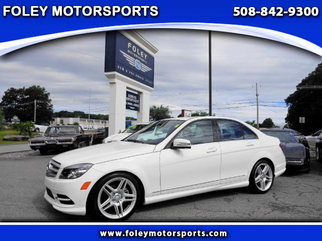 2011 Mercedes C-Class AWD C300 4MATIC Luxury 4dr Sedan Air Conditioning Alarm System Alloy Wheels