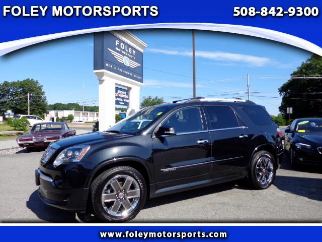 2012 GMC Acadia AWD Denali 4dr SUV 4x4 Air Conditioned Seats Air Conditioning Alarm System Allo