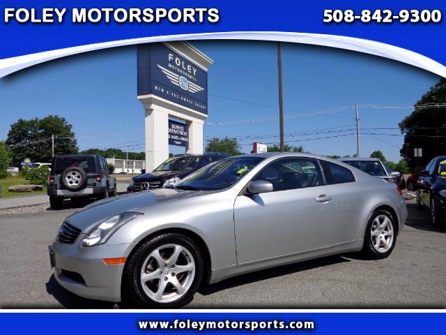 2003 Infiniti G35 Coupe with Leather at Foley Motorsports