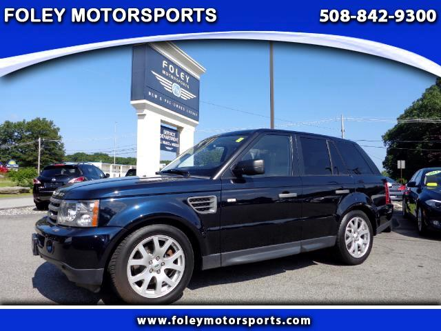 2009 LAND ROVER Range Rover Sport 4x4 HSE 4dr SUV 4x4 Air Conditioning Alarm System Alloy Wheels