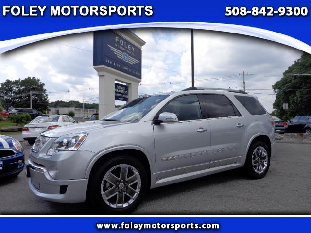 2011 GMC Acadia AWD Denali 4dr SUV 4x4 Air Conditioned Seats Air Conditioning Alarm System Allo