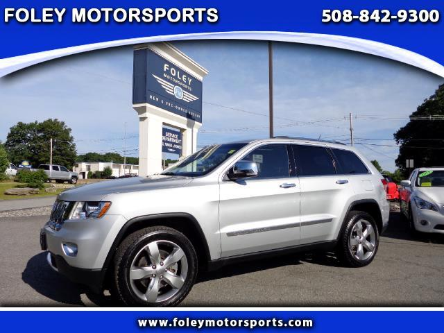 2013 JEEP Grand Cherokee 4x4 Overland 4dr SUV 4x4 Air Conditioned Seats Air Conditioning Alarm S
