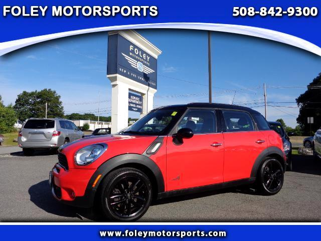 2011 MINI Countryman AWD S ALL4 4dr Crossover 4x4 Air Conditioning Alarm System Alloy Wheels AM