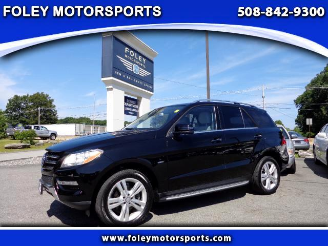 2012 Mercedes M-Class AWD ML350 4MATIC 4dr SUV 4x4 Air Conditioning Alarm System Alloy Wheels A
