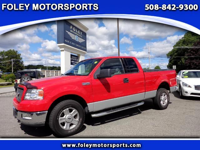 2004 FORD F-150 4dr SuperCab STX 4WD Styleside 65 ft SB 4x4 Adjustable Pedals Air Conditioning