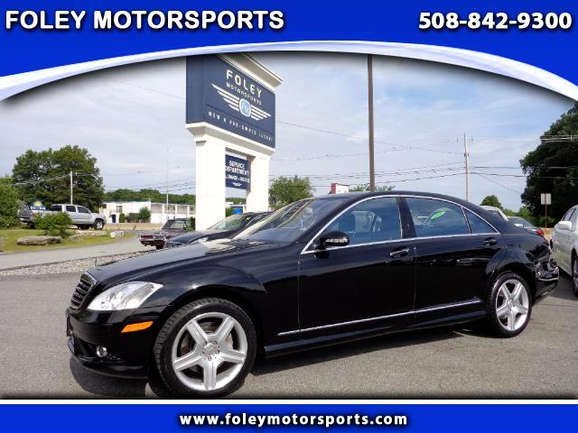 2008 Mercedes S-Class AWD S550 4MATIC 4dr Sedan Air Conditioning Alarm System Alloy Wheels AMFM