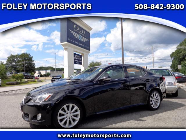 2010 LEXUS IS AWD 4dr Sedan 4x4 Air Conditioned Seats Air Conditioning Alarm System Alloy Wheel