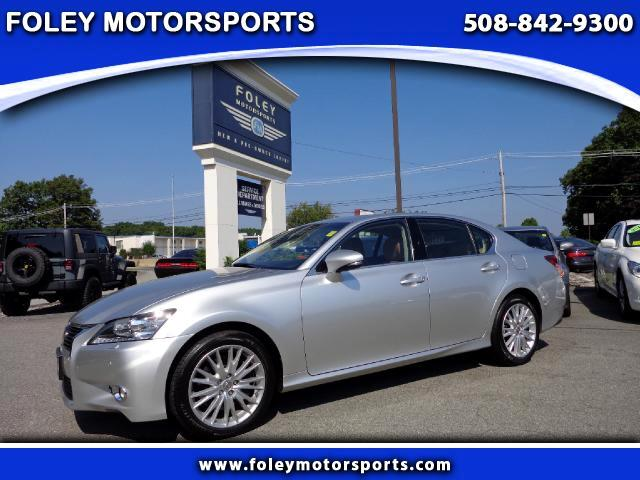 2013 LEXUS GS AWD 4dr Sedan 4x4 Air Conditioned Seats Air Conditioning Alarm System Alloy Wheel