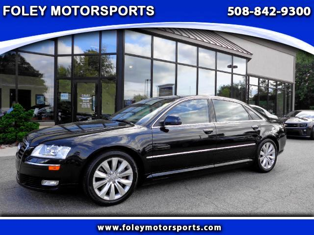 2010 AUDI A8 AWD quattro 4dr Sedan 4x4 Air Conditioned Seats Air Conditioning Alarm System Allo