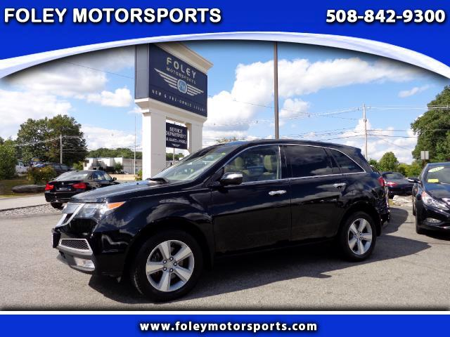 2011 ACURA MDX AWD Base 4dr SUV wTechnology Package 4x4 Air Conditioning Alarm System Alloy Whe